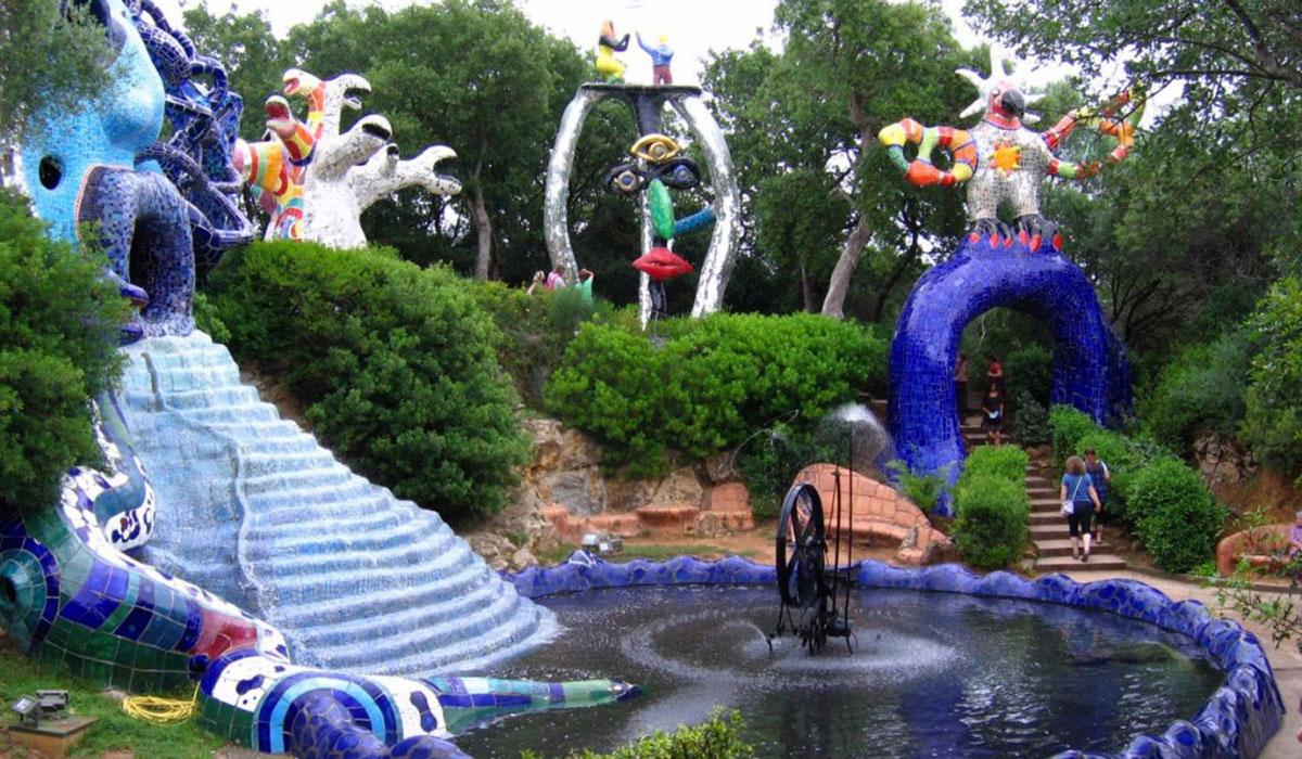 Il giardino dei tarocchi in vacanza all 39 argentario - Il giardino dei tarocchi ...