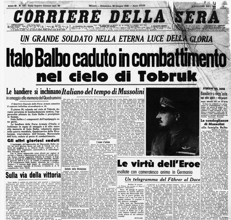 corriere-della-sera-morte-italo-balbo